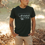 Montana Winter Unisex Tee - Emerald
