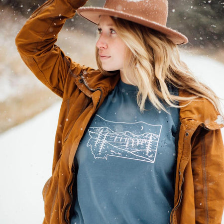 Life is Better in the Mountains Unisex Tee - Forest Green
