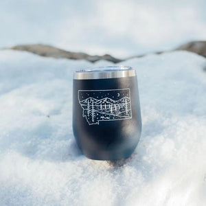 Starry Road Stainless Steel Tumbler - Navy