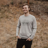 Starry Road Unisex Thermal - Grey