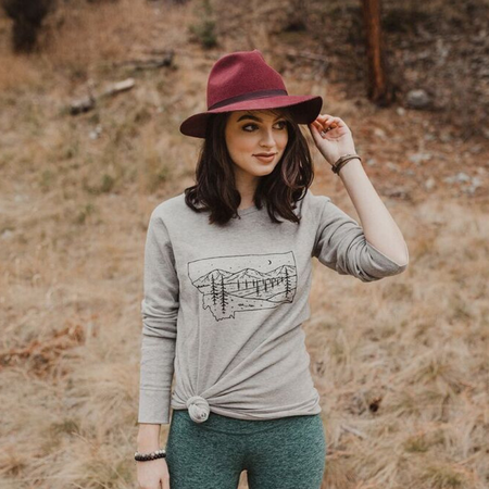 Life is Better in Montana Festival Tee - Berry