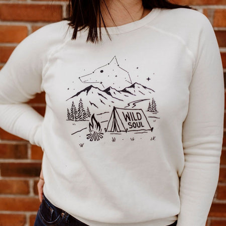 Home is Where the Mountains Are Ladies Tee - White