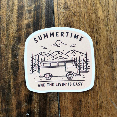 summertime and the livin' is easy sticker