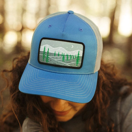 Tri Tone Tree Trucker - Green