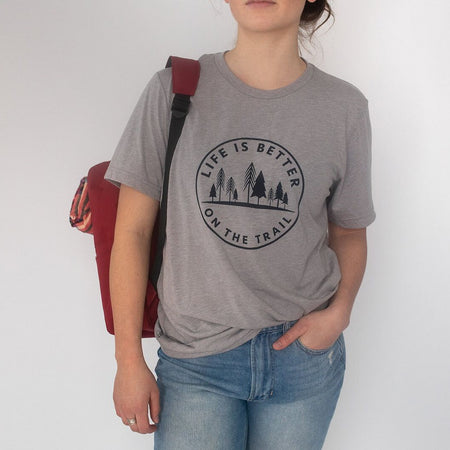 I Live For Powder Days On The Mountain Unisex Ring Tee - Black