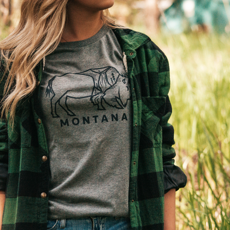 Life is Better in the Mountains Ladies Short Hoodie - Grey