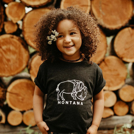 Wild One Infant & Toddler T Black
