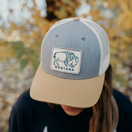 Where the Buffalo Roam Fleece w/ pocket Unisex - Hunter Green