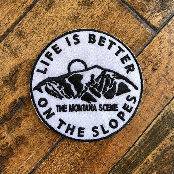 Life is Better on the Slopes Patch
