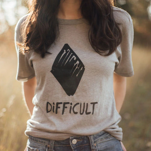 black diamond difficult tee