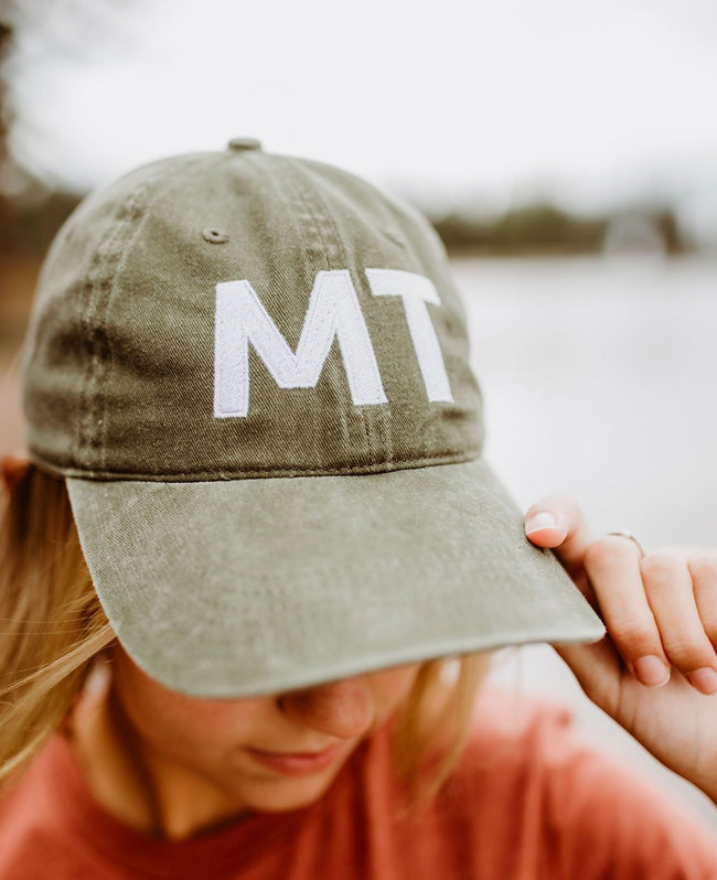 MT Dad Hat - Red/Green