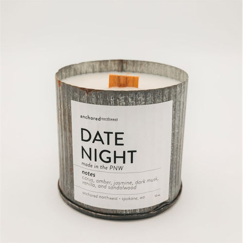 Date Night - Rustic Vintage Candle