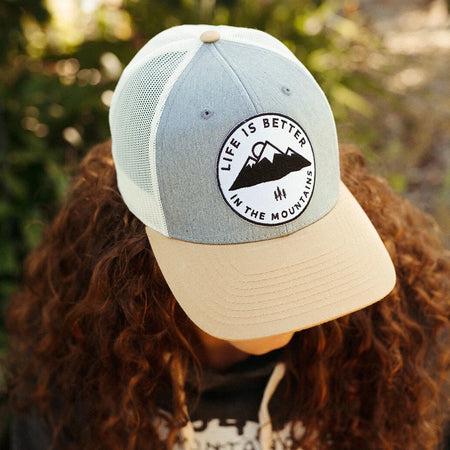 Montana Bison Corduroy Trucker - Light Blue