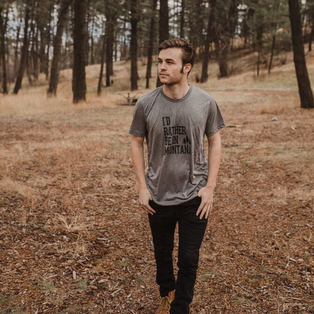 Mountain Vibes Unisex Tee - Forest Green