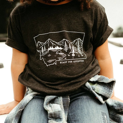 ready for adventure kids tee