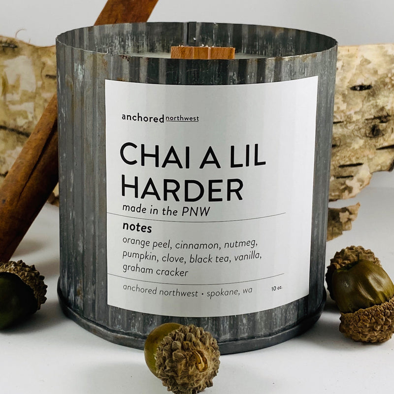 Chai a lil Harder - Rustic Vintage Candle