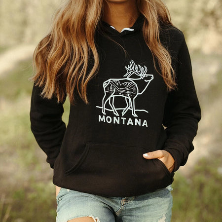 Montana wildflower Unisex Pullover - Light Peach