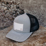Two Tone Montana Trees Trucker - Grey