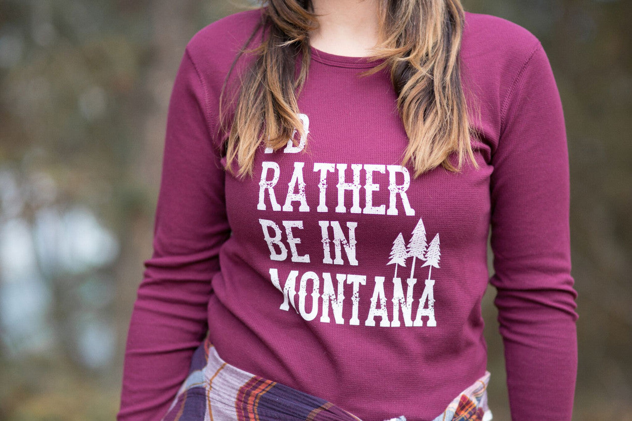 montana made shirts gifts