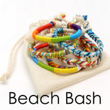 set of 7 beach boho bracelets