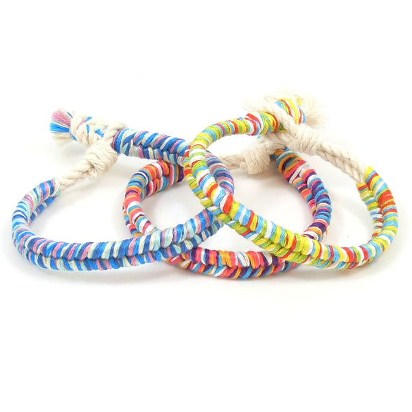 set of 3 beach party bracelets