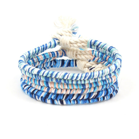 Boho Christmas Twisted Beach Bracelet