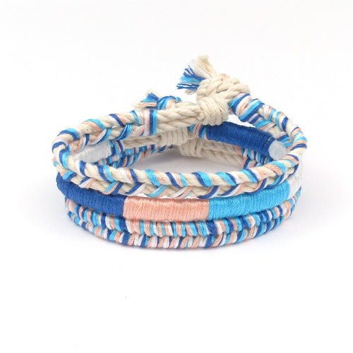 beach bungalow boho bracelet set