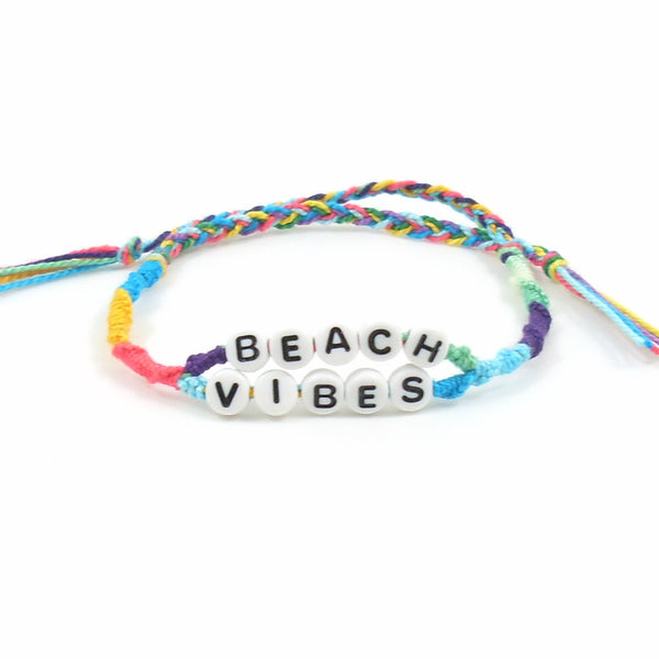 beach vibes summer bracelet