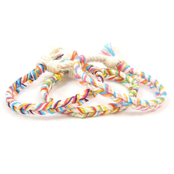Beachin Braided Beach Bracelets