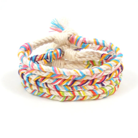 Island Life Braided Beach Bracelets