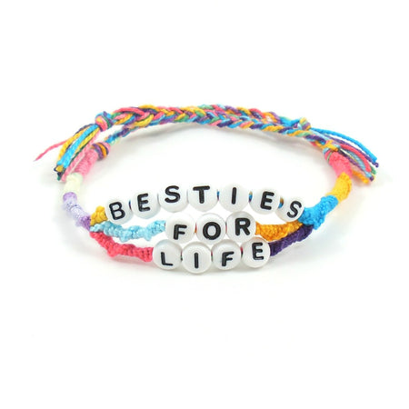Beach Vibes Word Bracelet