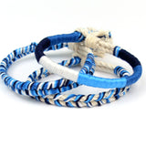 blue surfer bracelets