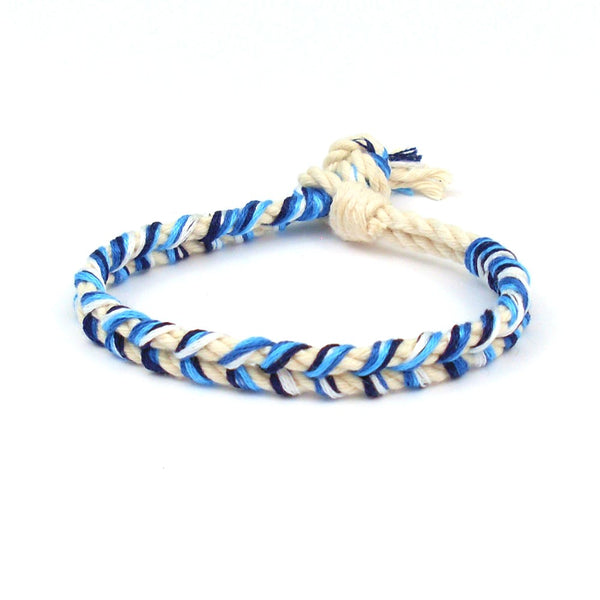 blue crush summer bracelet