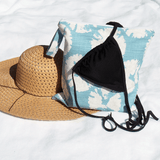 sand dollar bathing suit wet bag