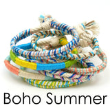 10 pack of summer boho bracelets