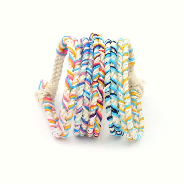 Wanderlust Braided Beach Bracelet