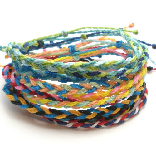 summer braided bracelets