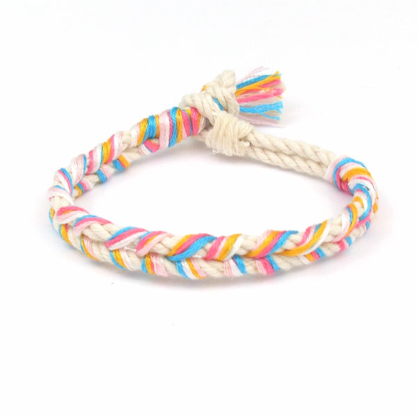 tropical beach bracelet
