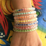 bright color summer bracelets