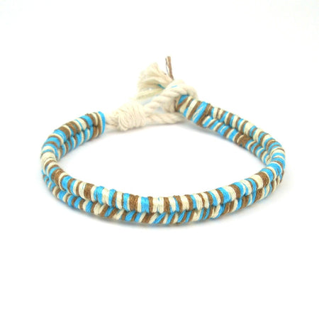 Blue Crush Boho Beach Bracelet