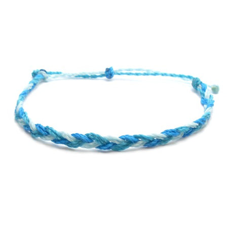 Girls Rule Braided Wax Bracelet