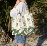 Pineapple Beach Bag measurements