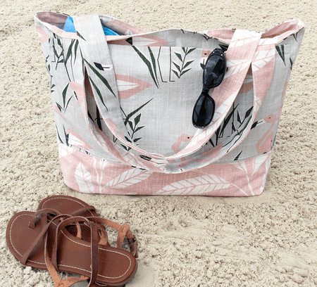 Flamingo Bathing Suit Wet Bag