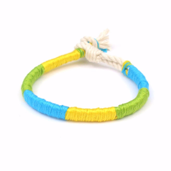 florida bracelet with bright beach colors