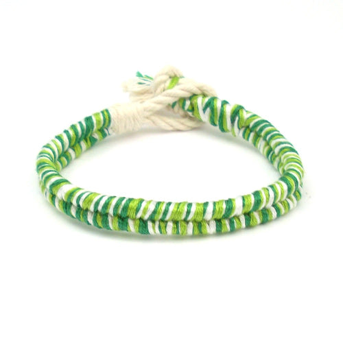 Green Apple Summer Boho Bracelet