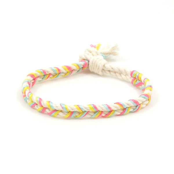 hippie vibes braided bracelet