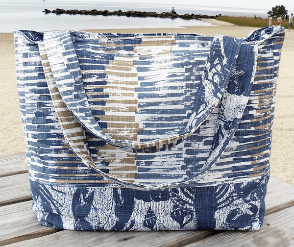 Reversible Lobster beach Bag