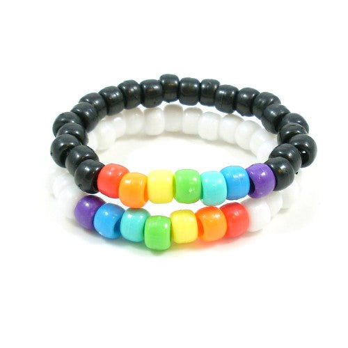 Rainbow Love is Love bracelets