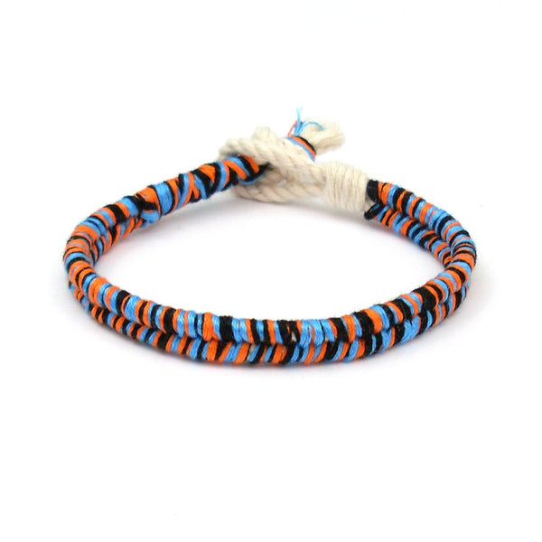 orange beach summer bracelet