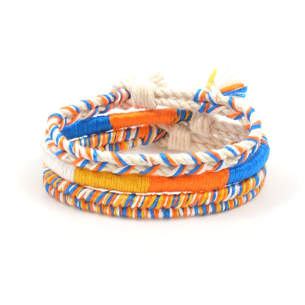 orange crush beach bracelet